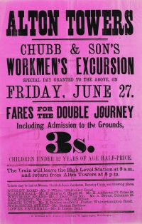 Alton Towers: Chub & Son's poster
